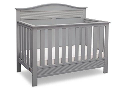 Serta Barrett 4-in-1 Convertible Crib, Grey