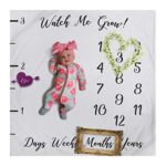 Baby Milestone Blanket Photography Background Prop: growing infants & toddlers
