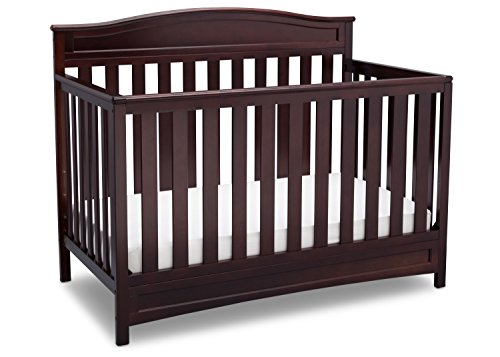 Delta Children Emery 4-in-1 Crib, Dark Chocolate