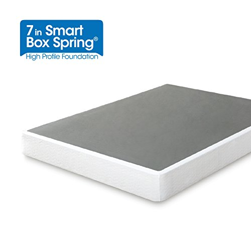 Zinus 7 Inch Smart Box Spring / Mattress Foundation / Strong Steel structure / Easy assembly required, Twin