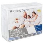 California King Cotton Terry Mattress Protector – Premium Hypoallergenic Waterproof Mattress Cover – Vinyl Free, Fits Well, Machine Washable, Noiseless – 10 Year Warranty