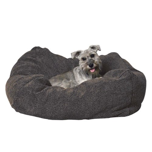 K&H Pet Products Cuddle Cube Pet Bed Small Gray 24″ x 24″