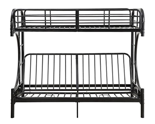 ComfortScape CS-02081BK Full/Futon Bunk Bed Not Applicable, Twin