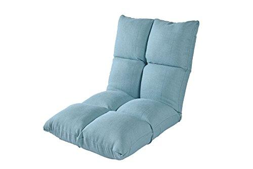 Porpora Relaxing Folding Futon Sofa and Comfortable Lounge Sofa, Blue A2
