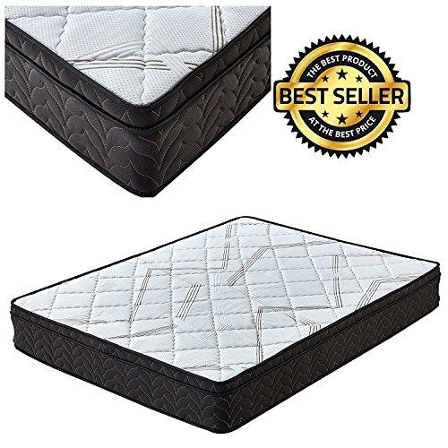 Signature Sleep Comfort 9 inch Pillow Top Mattress Memory Foam, Queen