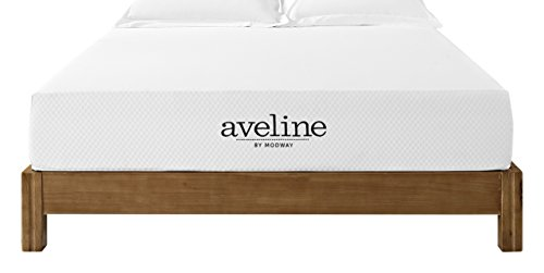 Modway Aveline 10″ Gel Infused Memory Foam Full Mattress With CertiPUR-US Certified Foam – 10-Year Warranty – Available In Multiple Sizes