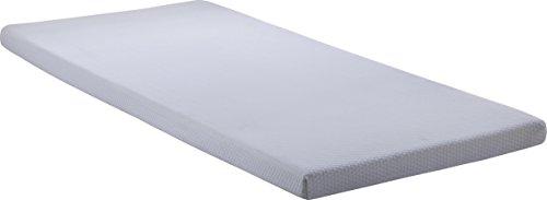 Simmons BeautySleep Siesta 3″ Memory Foam Mattress: Roll-Up Bed / Floor Mat, Twin