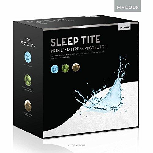 Sleep Tite Hypoallergenic 100% Waterproof Vinyl Free Crib Mattress Protector