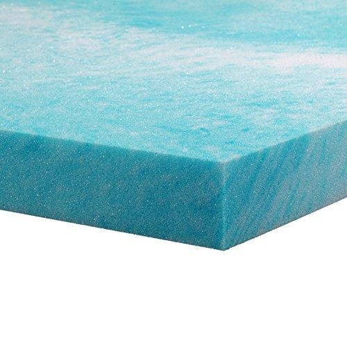 Gel Cool Memory Foam Mattress Topper – Cal, California King
