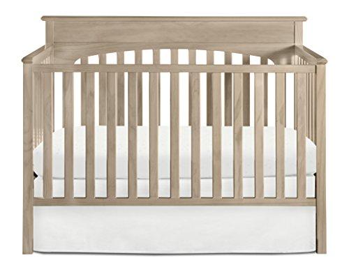Graco Lauren 4 in 1 Convertible Crib, Driftwood