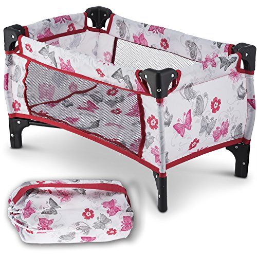 Litti Pritti Take Along Travel Crib Pack and Play Accessory for Dolls