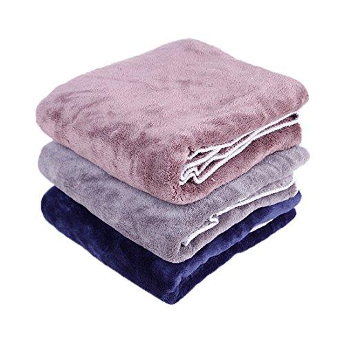 FOONEA Dog Blanket 27.56 x 39.37 inch,Soft Comfortable, Pure Design (Random)