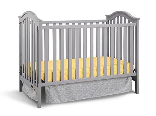 Graco Ashland Classic Convertible Crib, Pebble Gray