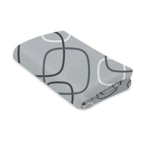 4Moms Breeze Playard Bassinet Sheet, Silver/Grey