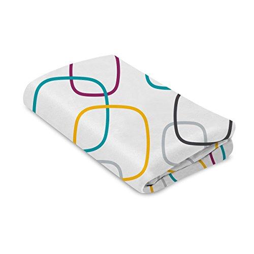 4Moms Breeze Playard Sheet, Multi/White
