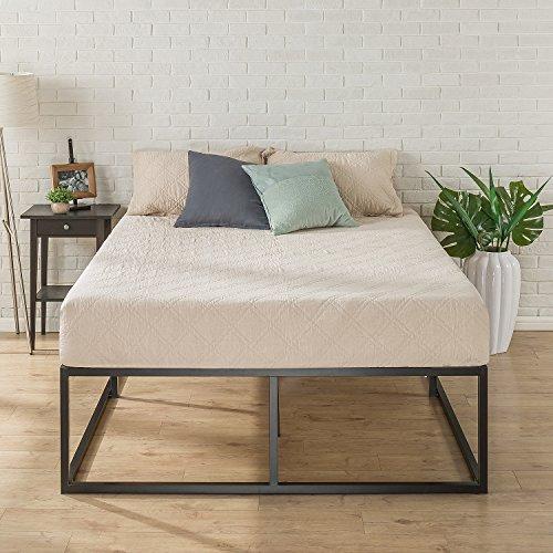 Zinus 18 Inch Platforma Bed Frame / Mattress Foundation / Boxspring Optional / Wood slat support, Twin