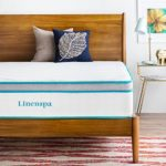 LINENSPA 12 Inch Gel Memory Foam Hybrid Mattress – Ultra Plush – Individually Encased Coils – Sleeps Cooler Than Regular Memory Foam – Edge Support – Quilted Foam Cover – Twin XL