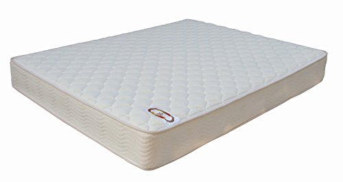 Kings Brand Furniture 8-Inch Innerspring Tiffany Mattress, Queen Size