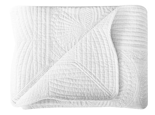 Lullaby Toddler Blankets All Weather Lightweight Embossed Cotton Baby Quilt