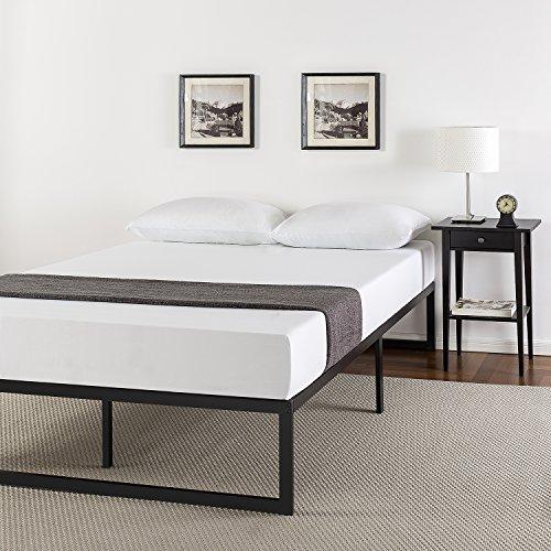 Zinus 14 Inch Metal Platform Bed Frame with Steel Slat Support / Mattress Foundation, Full