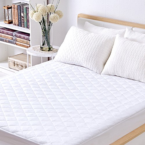 Sable Mattress Pad Protector Waterproof Quilted Queen