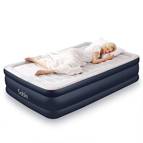 Sable Air Mattress Full Size Inflatable Bed 2019 Upgraded